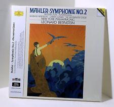 Bernstein GUSTAV MAHLER Symphonie No 2 180g VINYL 2xLP BOX Sealed Analogphonic