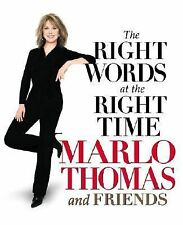 The Right Words At the Right Time by MARLO THOMAS & friends - Great Book