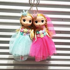 Cute Doll Pendant Dress Bag Key Buckle Plastic Toys 18CM Fashion Tool Set