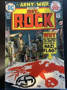 Our Army At War #272 Featuring Sgt. Rock 9/1974