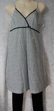 Cybele PJ's Pyjama Set Animal print Cotton Camisole Singlet & Leggings V-neck 12
