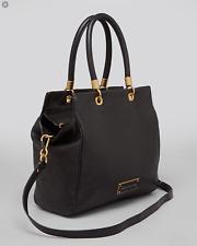 MARC JACOBS Too Hot To Handle Bentley Purse Handbag Satchel Black Tote Bag