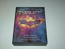 "COFFRET DVD "" THE DARK KNIGHT "" LA TRILOGIE 6 DVD + LIVRET MAKING OF COMME NEUF"
