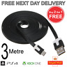 PlayStation 4 Controller Charging Cable Xbox One PS4 3 Metre 3m Long Lead USB