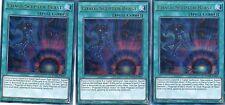 YUGIOH CARD - 3 x CHAOS SCEPTER BLAST- DUELIST SAGA DUSA-EN025 1ST EDITION