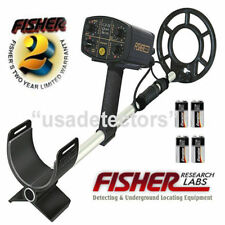 """FISHER CZ-21 WATERPROOF DIVING Metal Detector With 8"""" SEARCH COIL"""