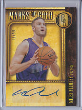 Miles Plumlee 2013-14 Gold Standard *Marks of Gold Autograph* NBA #72/99