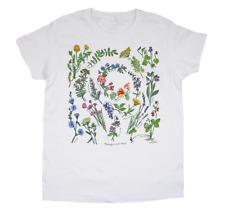 NEW Liberty Graphics Women T-Shirt Beneficial Herbs M L XL 2XL Plants Botanical