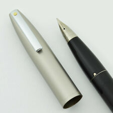 Sheaffer Imperial II Deluxe Fountain Pen - Black, Fine, Touchdown, NEW OLD STOCK