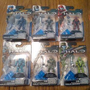 Mega Construx Bloks Halo Heroes Series 1 All 6, Buck MC, Thorne, Etc.