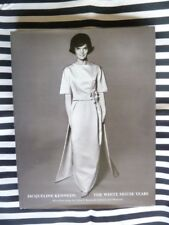 Jacqueline Kennedy: The White House Years FASHION BOOK Hardcover FINE
