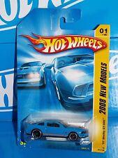 Hot Wheels 2008 New Models #1 '07 Shelby GT-500 Blue w/ Orange Stripes