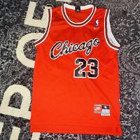 Vintage NIKE Chicago Bulls #23 MICHAEL JORDAN Jersey Sz S⚡️Ships Today⚡️