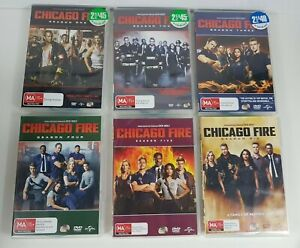 Chicago Fire Seasons 1-6 DVDs