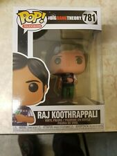 The Big Bang Theory Raj Koothrappali Pop! Vinyl Figure UK Seller