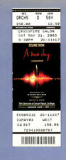 """2005-Celine Dion-""""A New Day"""" Concert In Las Vegas-Ticket-Nmt"""