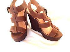 Candies HARLOW Platform Wedge Sandal 10 M NNB Woman shoes was $59.99