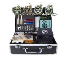 New Tattoo kits Empaisitc 4 machine gun power needles grip equipment complete