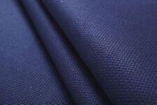"Free S&H wholesale 14 count navy blue aida cloth cross stitch fabric 59""x1 yard"