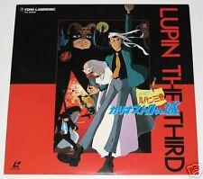 Japan LUPIN THE THIRD TOHO Anime Laser Disc