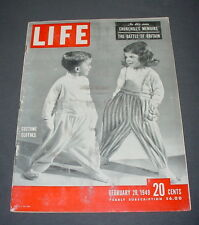 LIFE MAGAZINE FEBRUARY 28 1949 LASSIE MGM 25TH ANNIVERSARY BOXING VINCE FOSTER