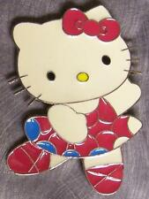 Pewter Belt Buckle Cartoon Hello Kitty NEW dancing