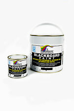 Rainbow Chalk Markers Blackboard Paint - 1 Litre Tin Ideal for Creating or
