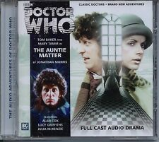 Dr Doctor Who The Auntie Matter Audio CD MINT Tom Baker