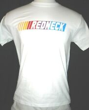 """REDNECK"" IN NASCAR LOGO DESIGN HANES TAGLESS Mens T-shirt FREE SHIPPING!"