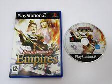 Dynasty Warriors 5 Empires PS 2 PlayStation 2 PAL