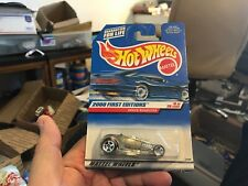 1932 Ford DEUCE ROADSTER - Hot Wheels First Editions 2000 #066 - Zamac Style