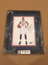 Ben Simmons Signed & Framed 8x10 Photo Philadelphia 76ers w/ UD COA STAR ROY