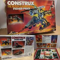 Vintage 1986 Fisher-Price Construx Military Series Sky Blazer 6320 Complete Set