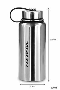 Flexifoil Large Premium Quality 800ml Water Coffee Tea Travel Camping Flask