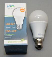 LED Leuchte E27 / 12 Watt dimmbar 1000 Lumen 2700k warmweiß von Via Licht