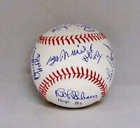 Cardinals HOFers Signed Rawlings OML Baseball- JSA Authenticated