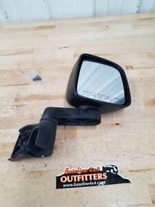 Jeep TJ Wrangler OEM Passenger Side Right Mirror Black 55395060AB 03-06 36313