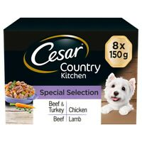 Cesar Country Special Selection in Gravy Wet Dog Food Trays - 8 x 150g