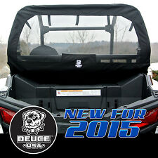 Deuce USA Polaris 2017-2015 RZR 900, 900 S, 900 XC, Trail  Rear Dust Screen