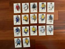 2018 Futera Soccer Cards Lot of 17 CRISTIANO RONALDO HiGUIAN RAMOS Mint
