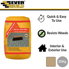 Sika Setting Sand | Narrow Joint Filler | Jointing Compound | Buff | 20kg