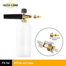 Snow Foam Lance Pressure Washer Soap 1L Bottle Gun for Nilfisk old type Car Wash
