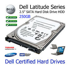 "250GB Dell Latitude D630 2.5"" SATA Laptop Hard Disk Drive (HDD) Upgrade"
