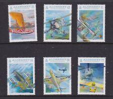 Alderney 2009. Centenary of Naval Aviation  SG 369/74 MNH