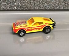 Lesney Matchbox Rolamatics | No 10 Mustang Piston Popper | Used | Yellow