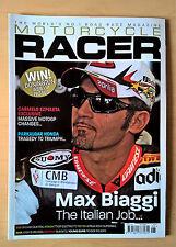 Motorcycle Racer 119 June 2009 - Apilia RSV4 SBK Test, Max Biaggi