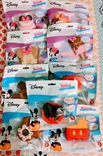 (9) Disney Kawaii Squeezies Mickey & Minnie Mouse mix of 9 Series 1 Squishies