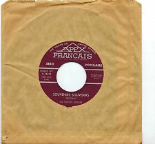 MFD IN CANADA NM FRENCH POP/ROCK/JAZZ 45 RPM : LES SOEURS KESSLER : SOUVENIR