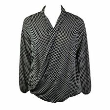 Unbranded Check Hip Length Classic Tops & Shirts for Women
