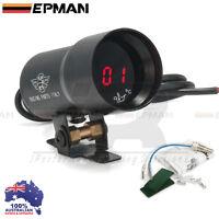Oil Temp Gauge EPMAN 37mm Compact Micro Digital Smoked Lens Universal